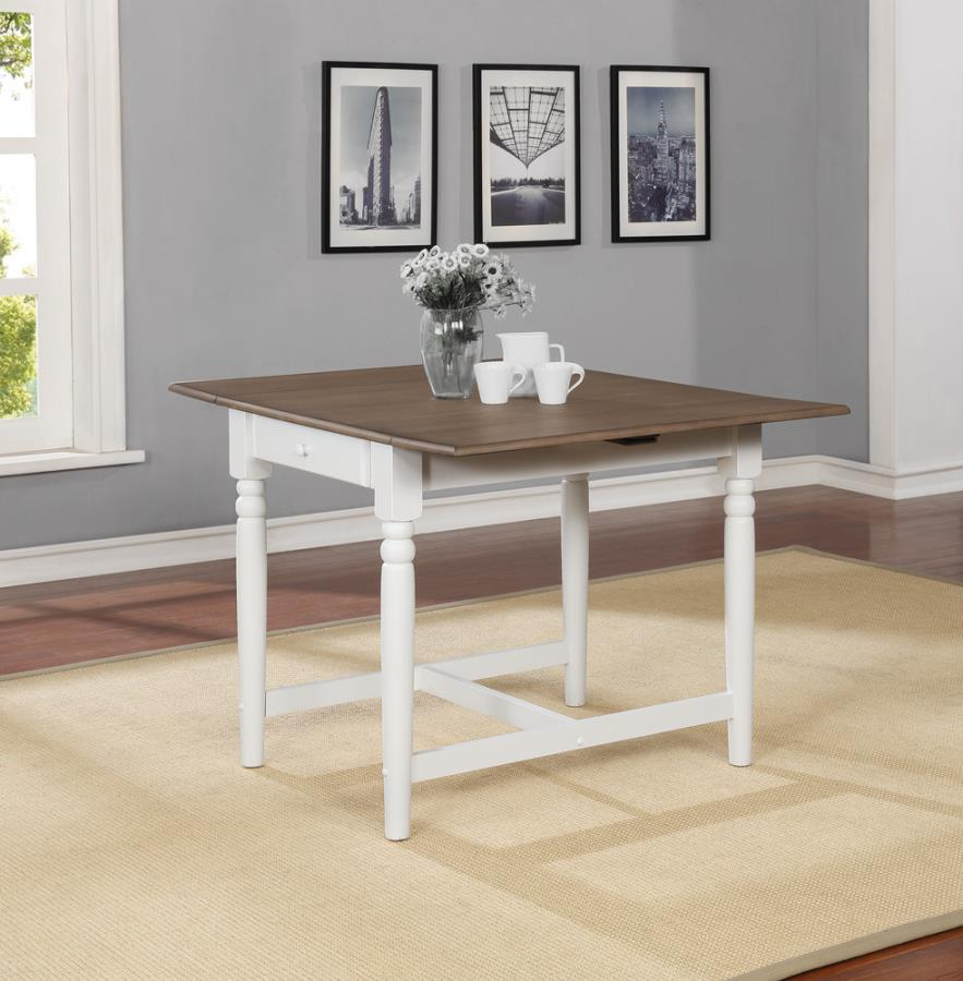Drop Leafs Dining Table