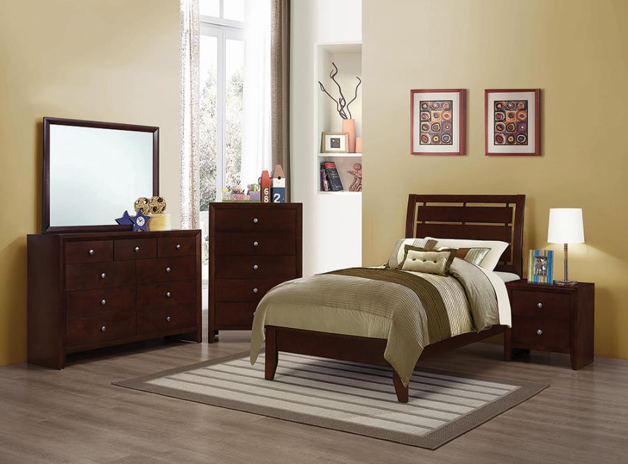 Serinity Twin Panel Bed