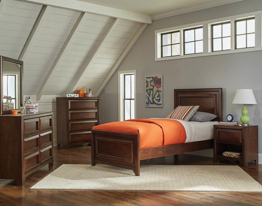 Greenough Twin Panel Bed