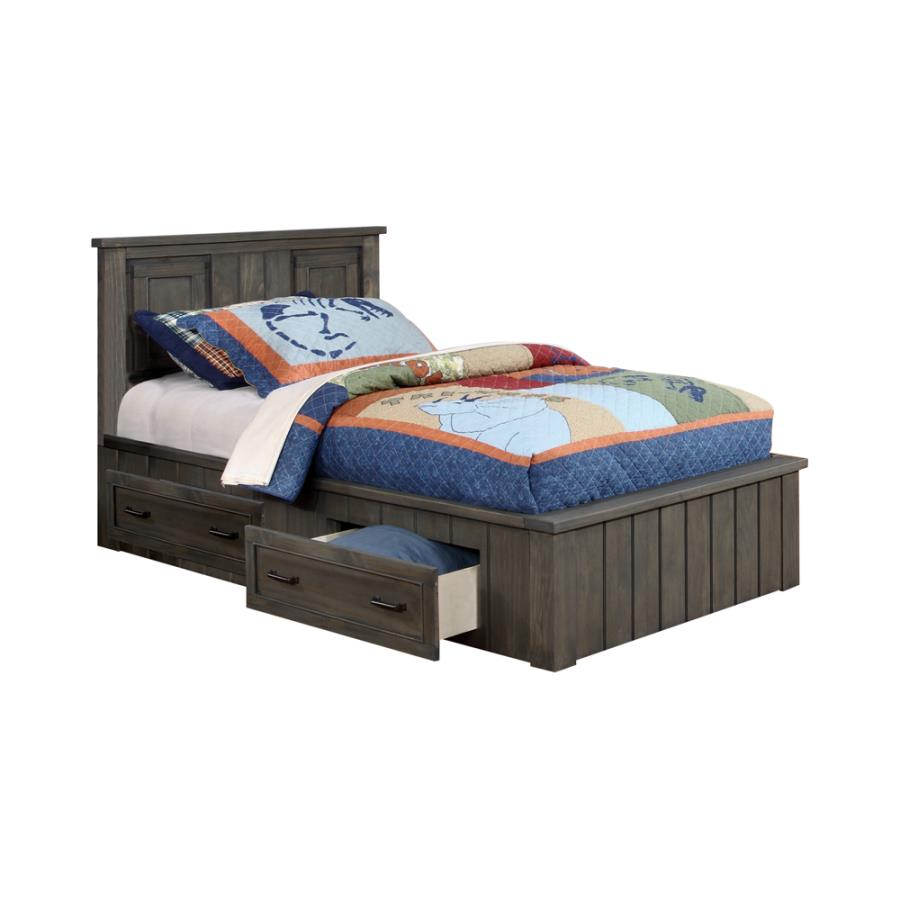 Napoleon Twin Platform Bed with Storage Drawers