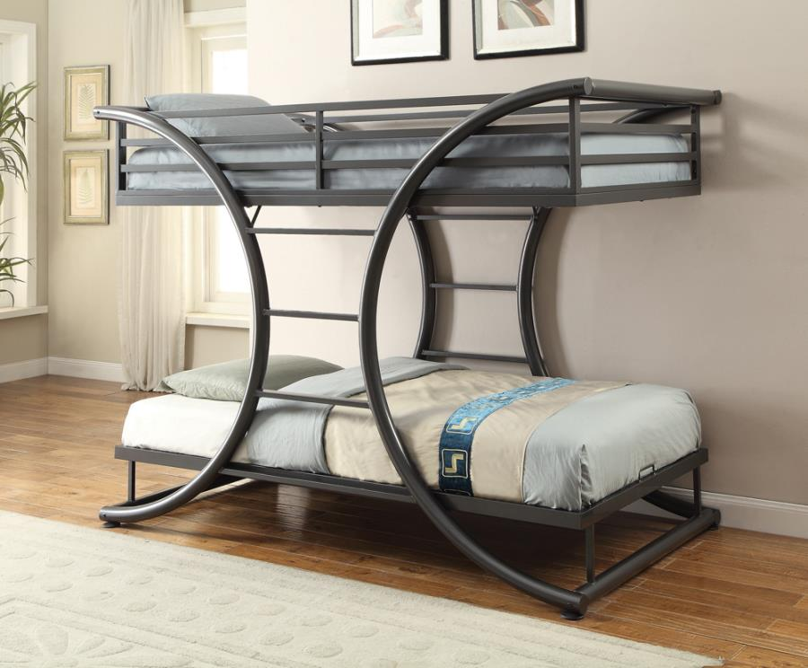 Stephane Twin over Twin Bunk Bed
