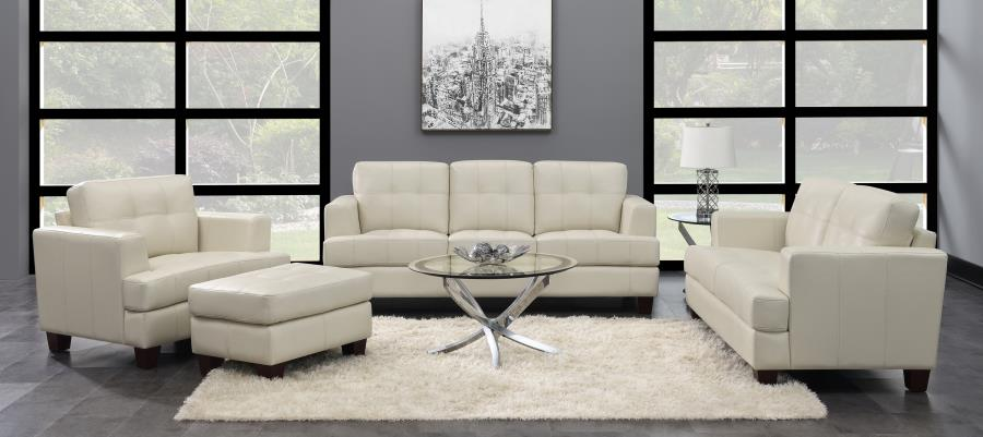 2PC Leather living room set