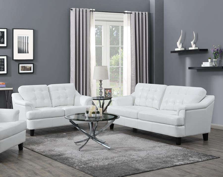 2-piece Tufted Back Living Room Set