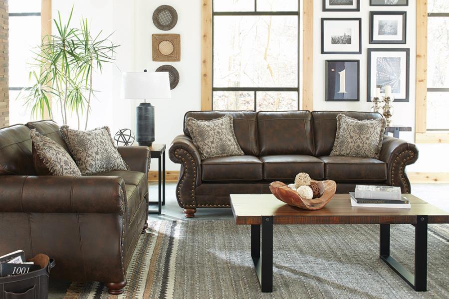 Graceville 2-piece Living Room (Sofa + Loveseat)