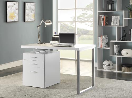 Office desk (cappuccino)