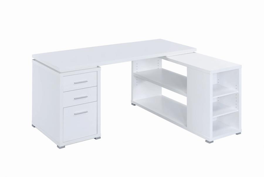 Yvette L-shape Office Desk