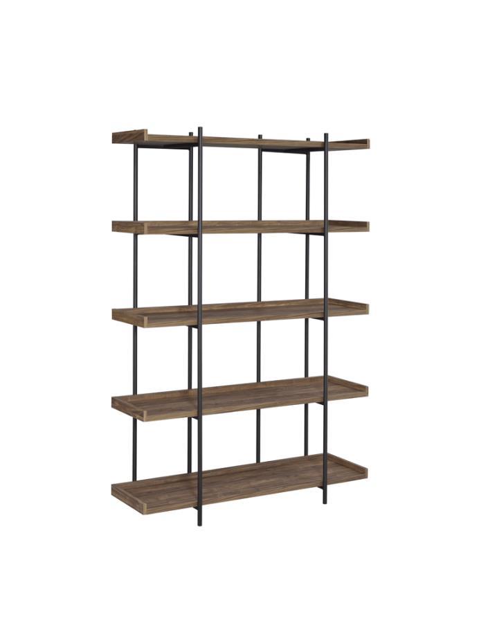 Lawtey 5-shelf Bookcase