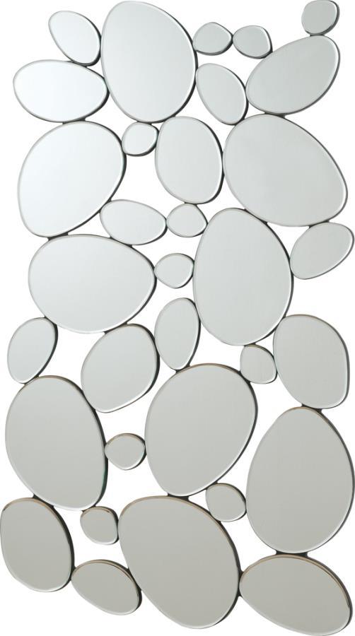 Pebble-Shaped Decorative Mirror