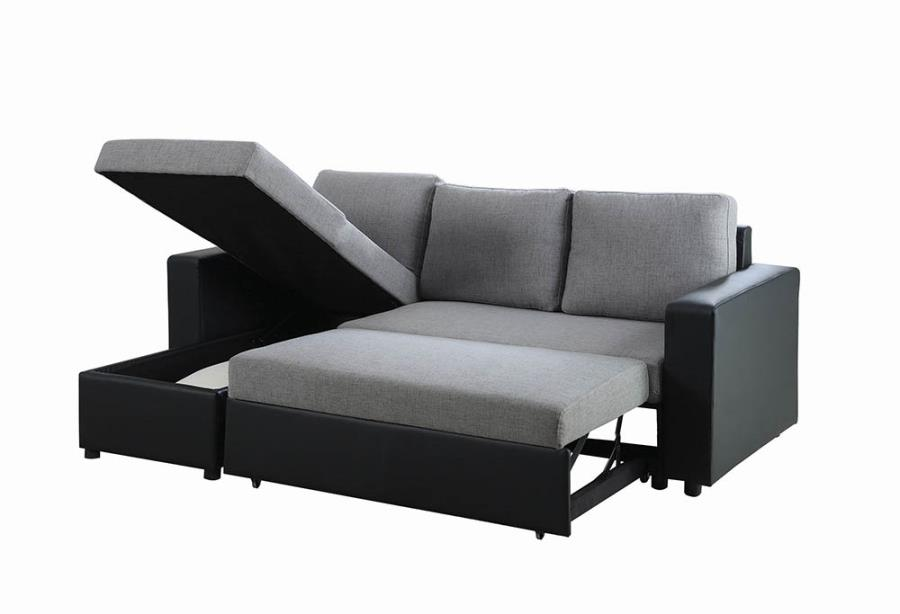 Everly Reversible Sleeper Sectional