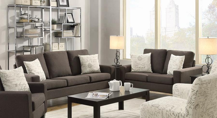 Bachman Track Arm Upholstered Sofa & Loveseat