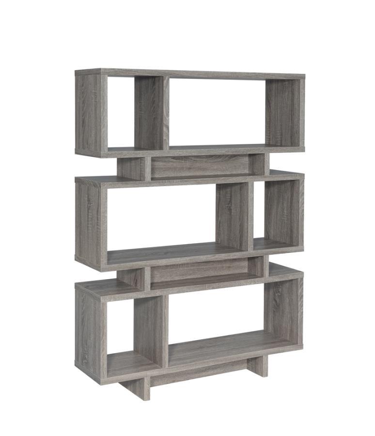 3-tier Geometric Bookcase